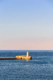 The lighthouse at La Valletta, Malta Royalty Free Stock Images