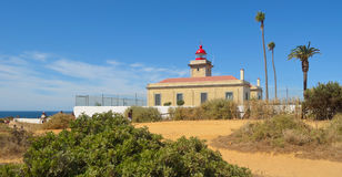 The lighthouse at Lagos Royalty Free Stock Image