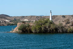Lighthouse in Lake Havasu City, AZ Stock Photo