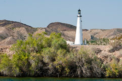 Lighthouse in Lake Havasu City, AZ Stock Images