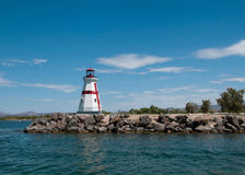 Lighthouse in Lake Havasu City, AZ Stock Image