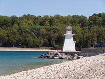 Lighthouse on lake Huron Royalty Free Stock Photography