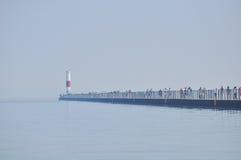 A lighthouse on the lake ontario Stock Photos