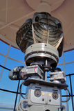 Lighthouse lamp. A view of lamp in the lighthouse of danger point Royalty Free Stock Photos