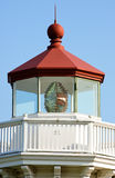 Lighthouse lamp room Royalty Free Stock Images