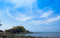 Lighthouse landmark of  Koh Lanta, Krabi, Thailand Royalty Free Stock Photo