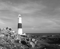 Lighthouse Landscape royalty free stock photo