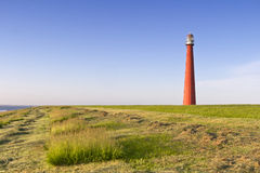 Lighthouse Lange Jaap Den Helder Netherlands stock image