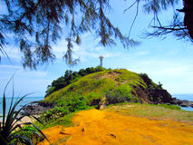 Lighthouse at Lanta island. Lanta , Krabi, Thailand Royalty Free Stock Images