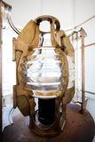 Lighthouse light bulb. Closeup of a lighthouse light bulb Stock Photos