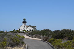 LightHouse. Light house in american west coast, Cali Royalty Free Stock Photography