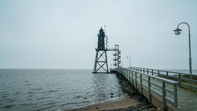 Lighthouse. On the german northsea Royalty Free Stock Photos