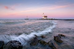 The Lighthouse.  Royalty Free Stock Photo