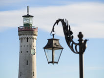 Lighthouse Lindau Stock Photography