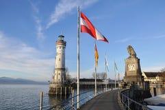 Lighthouse from Lindau. Germany Royalty Free Stock Image