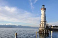 Lighthouse from Lindau. Germany Royalty Free Stock Photo