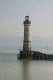 Lighthouse in Lindau, Lake Constance royalty free stock photos