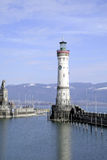 Lighthouse of Lindau in Lake Constance Royalty Free Stock Image