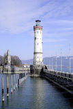 Lighthouse of Lindau in Lake Constance Royalty Free Stock Photography