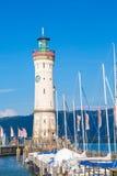 Lighthouse Lindau Stock Photography