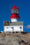 Lighthouse, Lindesnes Royalty Free Stock Image