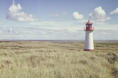Lighthouse List West, Ellenbogen, Sylt, Schleswig-Holstein, Germany Royalty Free Stock Photo
