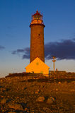 Lighthouse, Lista. Lighthouse at Lista in Norway Royalty Free Stock Photo