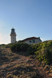 Lighthouse. On a little island of Croatia royalty free stock photography