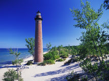 lighthouse little sable Στοκ φωτογραφία με δικαίωμα ελεύθερης χρήσης