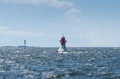 Lighthouse Ljusaklack Finland Royalty Free Stock Photo