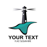 Lighthouse Logo Royalty Free Stock Image