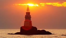 lighthouse lonely στοκ εικόνες