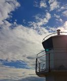 Lighthouse. Looking up at the sky Royalty Free Stock Photo