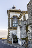 Lighthouse of Luarca, Asturias, Stock Photos