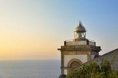 Lighthouse of Luarca Stock Image