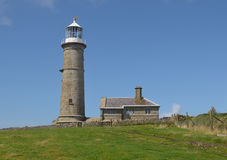 Lighthouse Lundy Island Royalty Free Stock Images