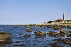 Lighthouse  Lysta Fyr Stock Photography