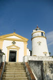 Lighthouse in Macau Stock Photography
