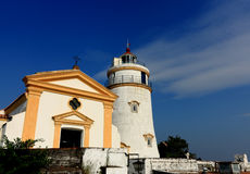 Lighthouse in Macau Stock Photo