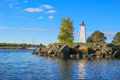 LIghthouse at Mactaquac park Stock Photo