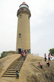 Lighthouse at Mahabalipuram, Tamil Nadu,India,Asia Royalty Free Stock Photography