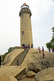Lighthouse at Mahabalipuram, Tamil Nadu,India,Asia Stock Photography