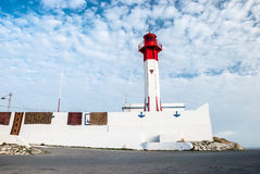 Lighthouse in Mahdia, Tunisia Stock Images