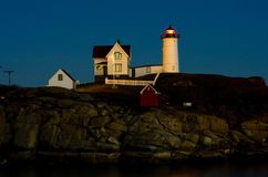 Lighthouse in Maine Stock Images