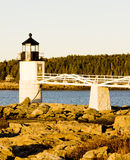 Lighthouse in Maine. Marshall Point Lighthouse, Maine, USA Stock Photography