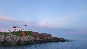 The Nubble Lighthouse royalty free stock images