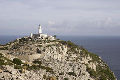 Lighthouse at Majorca Royalty Free Stock Images