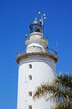 Lighthouse, Malaga, Spain. Stock Photography