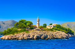 Lighthouse, Mallorca, Balearic island, Spain Stock Photos