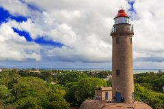 Lighthouse in Mamallapuram Royalty Free Stock Photos